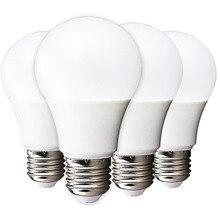 4PCS LED Lamp Bulb E27 LED Lampada Ampoule Bombillas 3W 5W 7W 9W 12W 15W 18W Bulbs 110V 220V Cold Warm White SMD2835 LED Lights