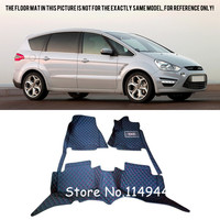 For Ford S Max 5 seats 2006 2014 Special Waterproof Car Floor Mats Carpets