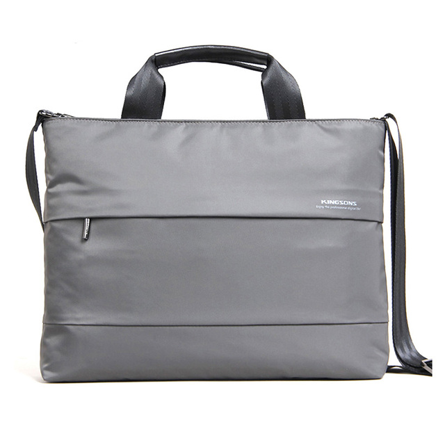 Kingsons 13.3 15.4 inch Laptop Bag Men Business Briefcase Women Casual Large Handbag Waterproof Shoulder Messenger Pouch
