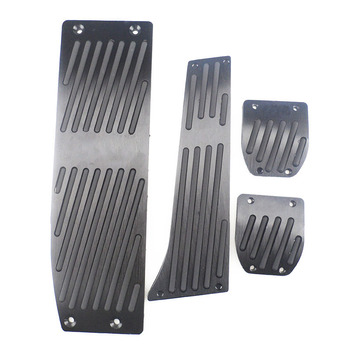 AT MT Aluminum alloy accelerator pedal FOR BMW E30 E36 E46 E87 E90 E91 E92 E93 X1 X3 X4 Z4 car pedal image
