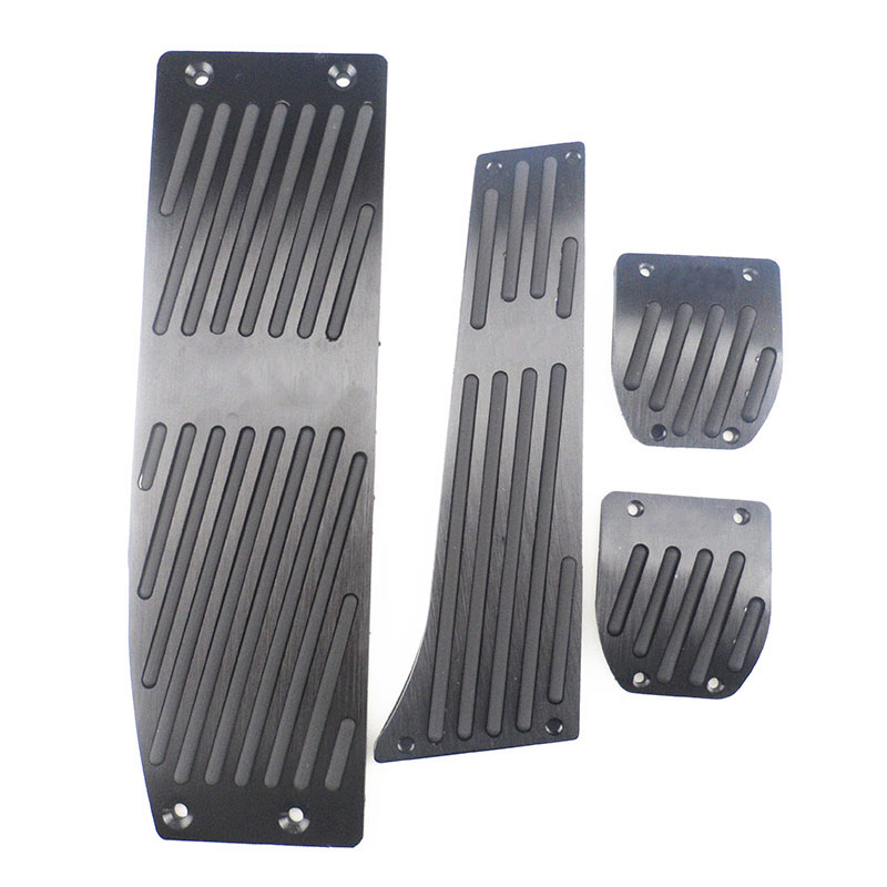 AT MT Aluminum alloy accelerator pedal FOR <font><b>BMW</b></font> <font><b>E30</b></font> E36 E46 E87 E90 E91 E92 E93 X1 X3 X4 Z4 car pedal image