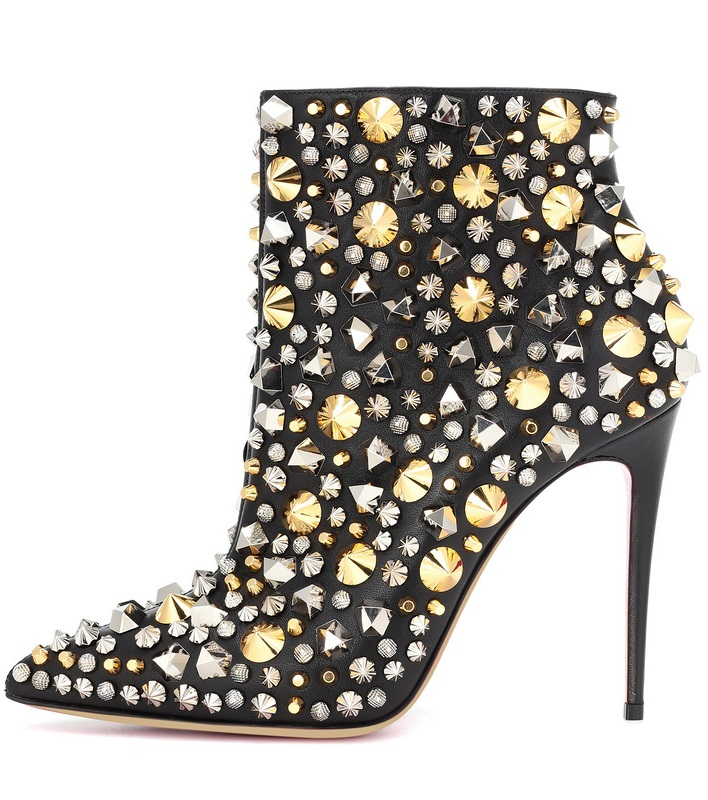 high quality lady rivets studded belt fasten knee high suede leather autumn fashion round toe flat heel woman botas shoes in Knee High Boots from Shoes
