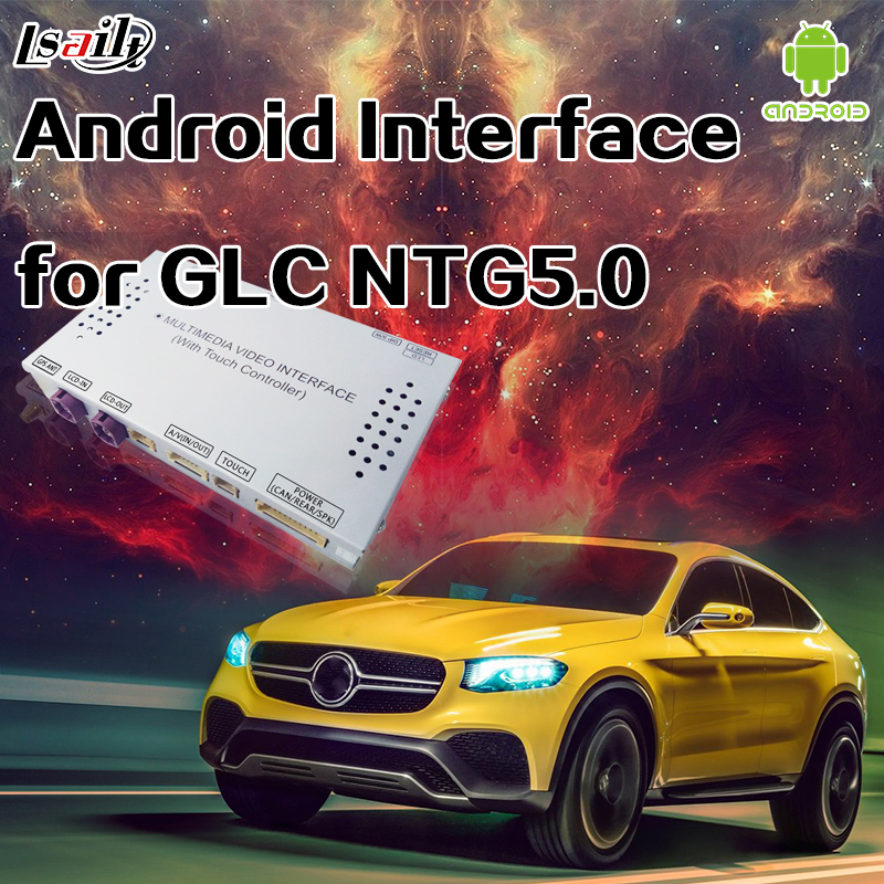 Android 6.0 GPS Navigation Box for 2015 2017 Benz GLC GLE GLA with WIFI Mirrorlink APP live Navigation Online Map