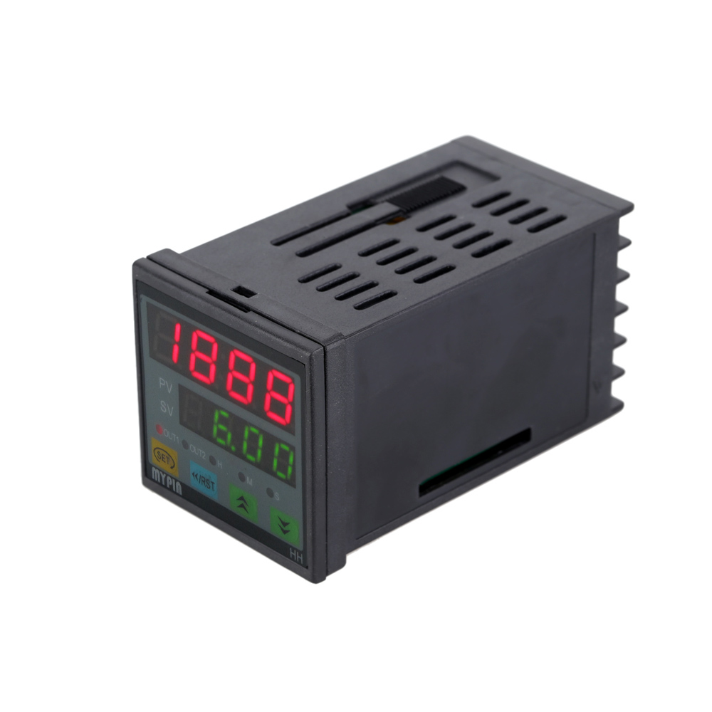 90-260V AC/DC Digital Timer 4-Digit Display Alarm Clock Countdown Time Counter Chronograph Relay Output 1 Alarm jdm11 6h grey digit display electronic counter ac 220v dc 24v production counting