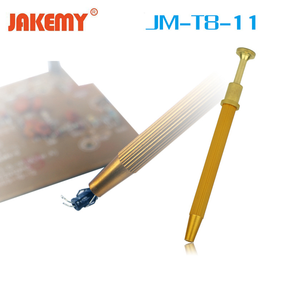 Jakemy Precision Parts Grabber IC Chip Components Catcher Clamping Clip Pick Up Tools Four Claw Hold Tightly Hand Repair Tools