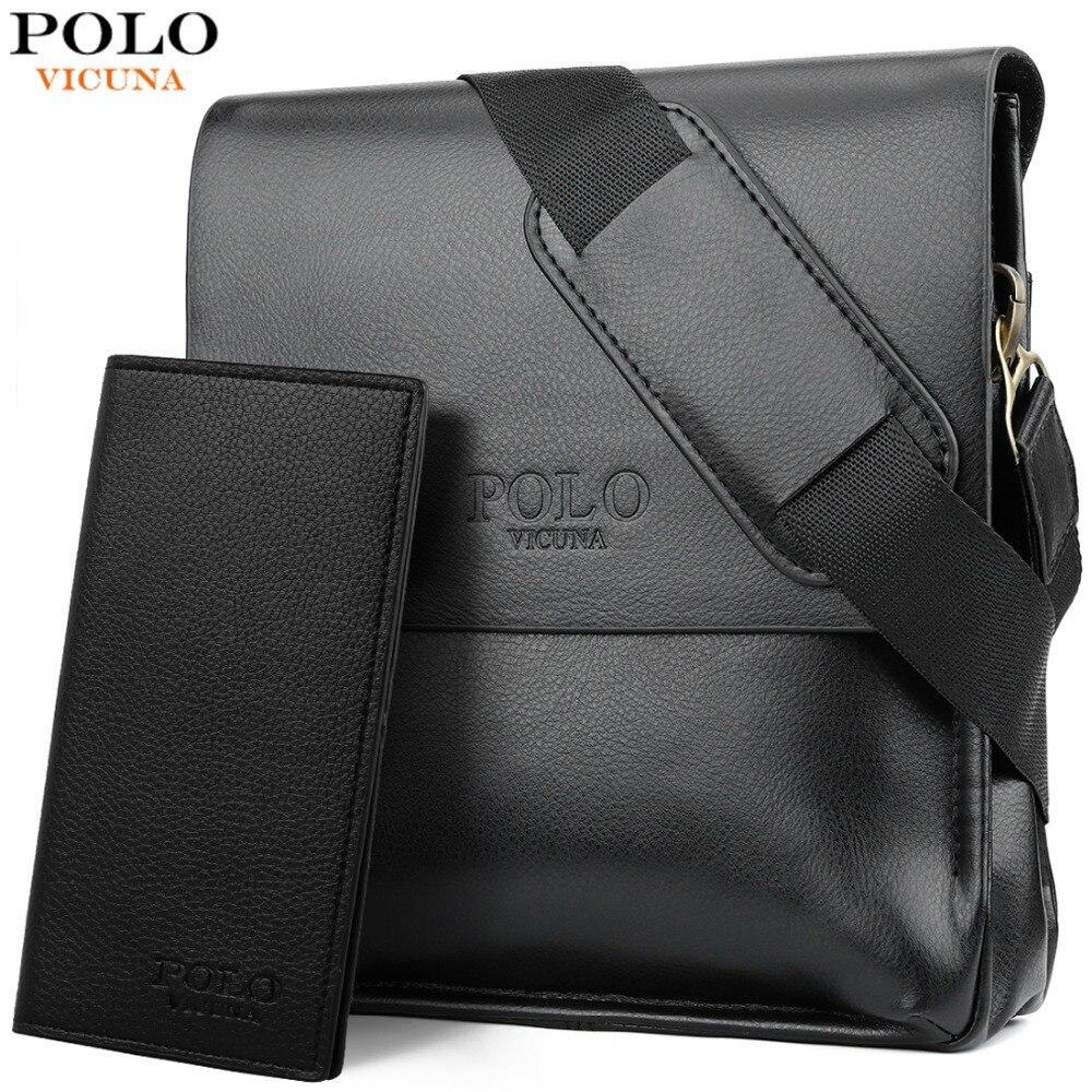 4c5f21d7b6a7 Викуньи поло известный бренд кожа для мужчин сумка повседневное ...