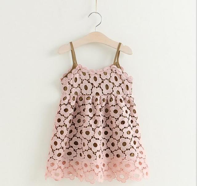 Aliexpress Buy 2017 Baby Girls Crochet Lace Dresses Kids Girls