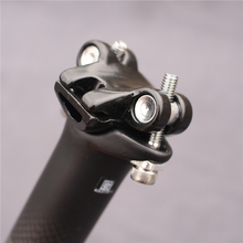OEM Carbon Seatpost 27.2/30.8/31.6*350/400mm Carbon Bike PartsMtb Seat Post Road Carbon Seatpost