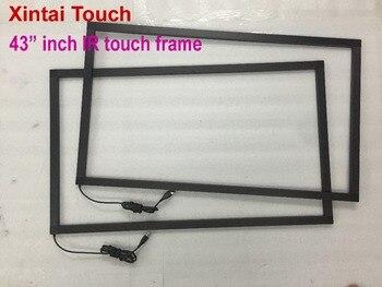 Xintai Touch 43 Cal 10 punktów nakładka ekranu dotykowego IR rama panelu bez szkła