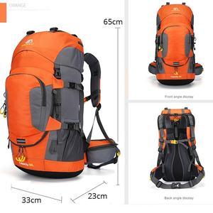 Image 2 - KOKOCAT جديد 60L المشي لمسافات طويلة على ظهره الرياضة في الهواء الطلق حقيبة تسلق الجبال مع غطاء للمطر حقيبة السفر
