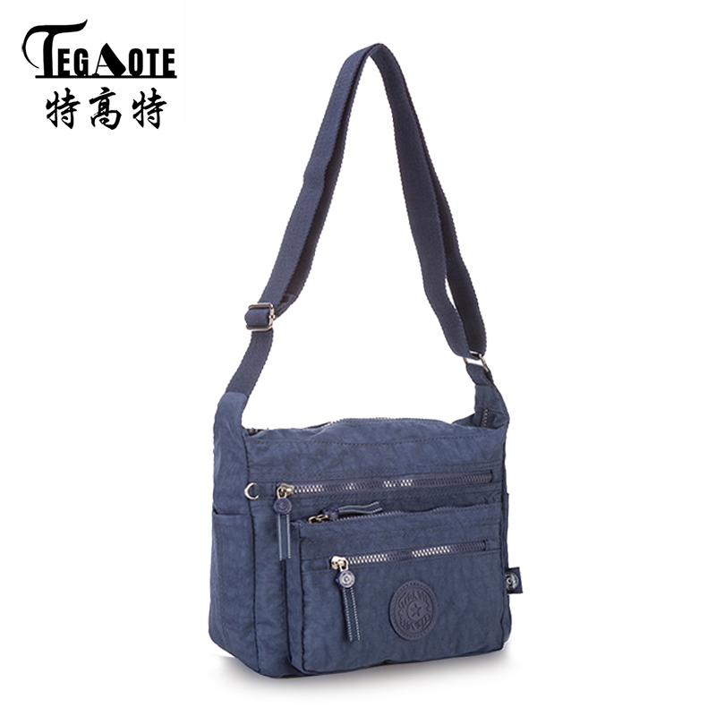 New Women Messenger Bags for Women Waterproof Nylon Handbag Female Shoulder Bag Ladies Crossbody Bags bolsa sac a main femme de 2017 new clutch steam punk female satchel handbag gothic women messenger bags shoulder bag bolsa shoulder bags tote bag clutches