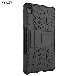 Image 4 - sFor Coque Sony Xperia E5 Case Shockproof Hard Silicone Phone Case For Sony Xperia E5 Cover For Sony E5 F3311 F3313 Shell XYWZV