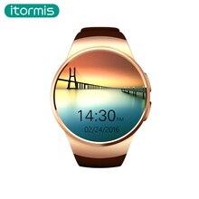 2017 Nueva Llegada itormis W13 Pantalla Táctil smartwatch Bluetooth Inteligente Reloj monitor de ritmo cardíaco Apoyo TF Tarjeta SIM IOS Android