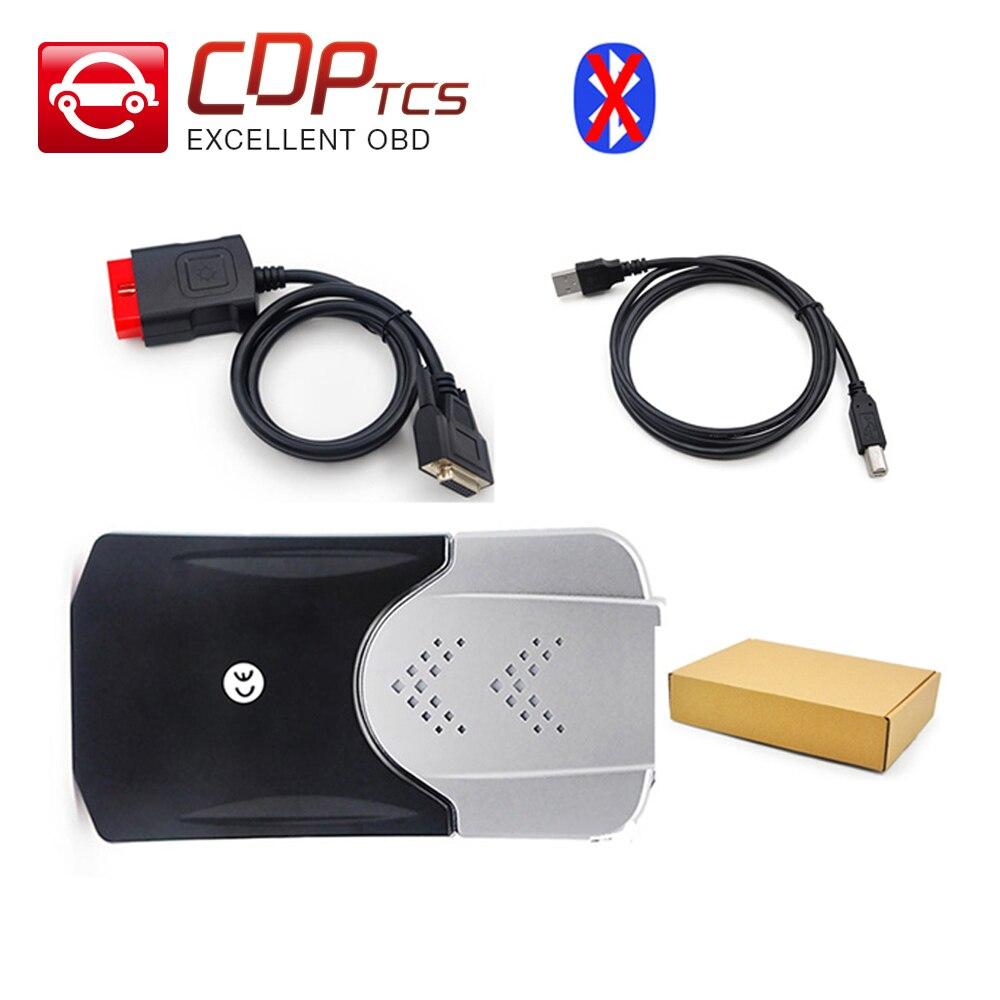 imágenes para Nueva CDP TCS PRO Plus Bluetooth tcs cdp 2015. R3 keygen software como Multidiag pro los carros de los coches OBD2 OBDII herramienta de diagnóstico de escaneo automático