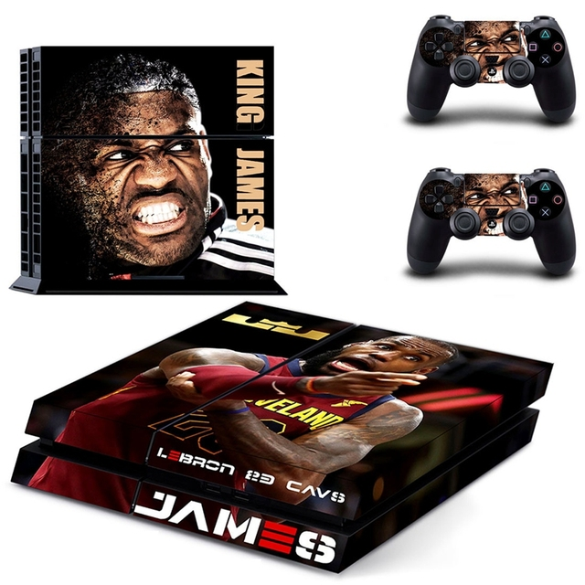 HOMEREALLY PS4 Stickers KING DOM HEARTS Cover Decal PS4 Skin Sticker For Sony Play Station 4 Console and Controller Skin         4