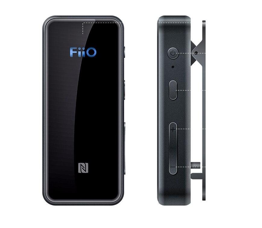 FiiO BTR3 Bluetooth Receiver 4.2 aptXLL Wireless Bluetooth Audio Receiver 3.5mm Car Aux Bluetooth Adapter for Speaker Headphone gear shift
