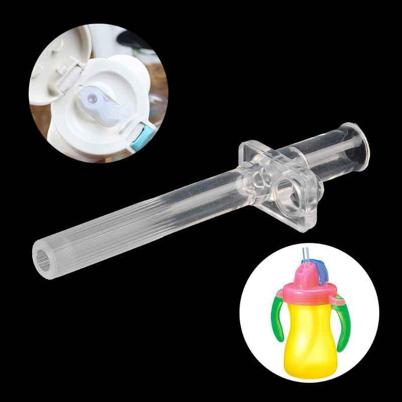 1pc Del Bambino di Paglia Anti Choke Molle Del Silicone di Paglia Per I Bambini Bottiglia di Acqua Potabile Tazza di Alimentazione 2019 Baby Shower Regalo