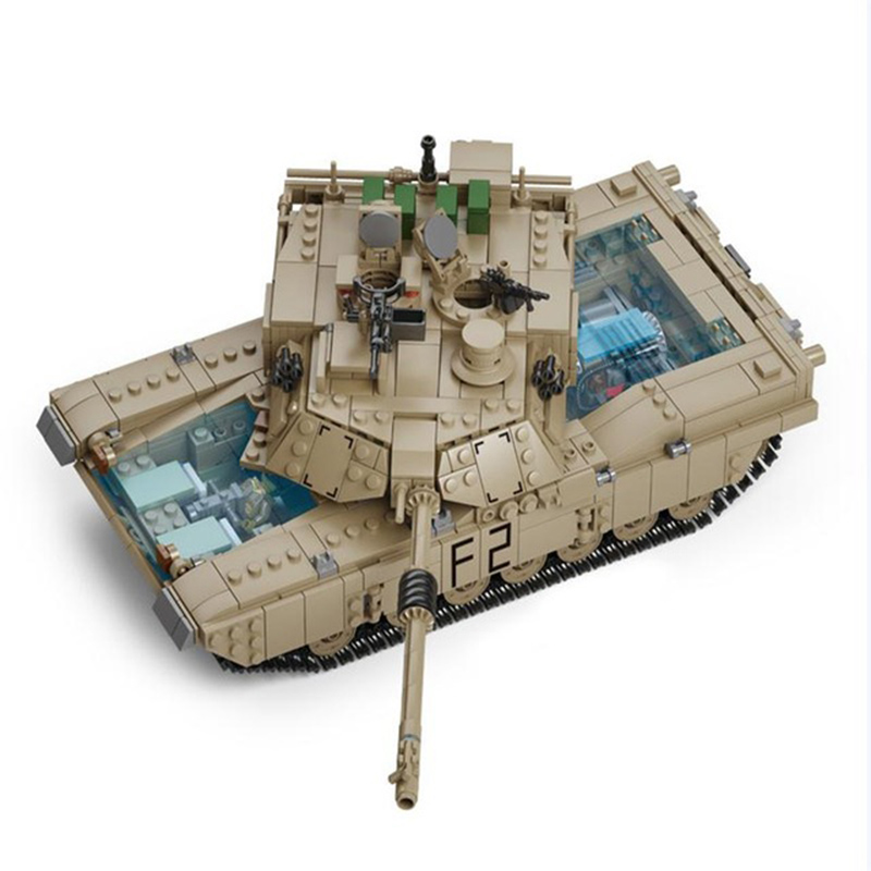 2In1 1463Pcs Building Blocks Military Tank Collection Trans s