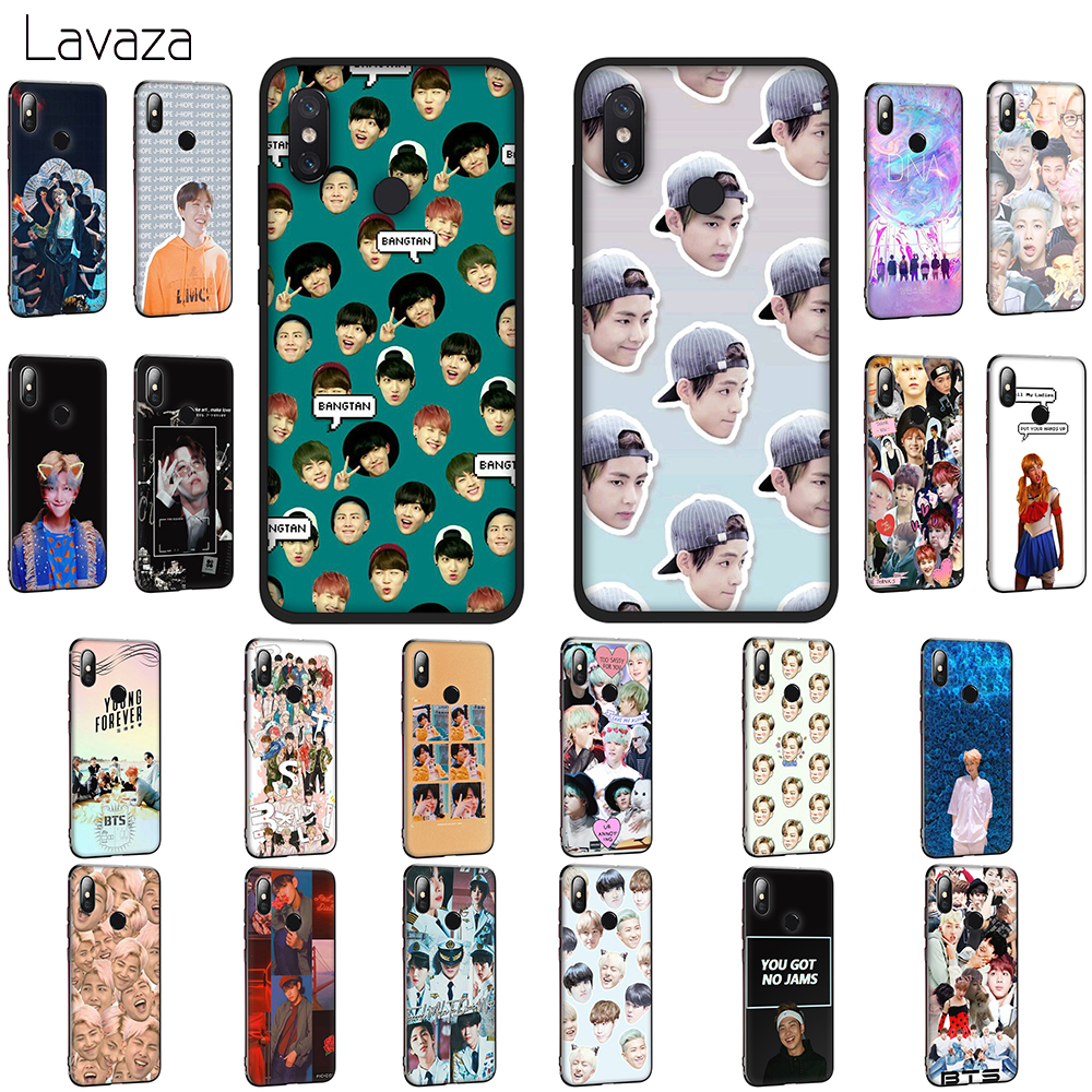 Lavaza BTS Bangtan V Jim Taehyung Style Soft TPU Case for Xiaomi Mi 6 9 SE A1 8 A2 Lite Mix 2s Max 3 for POCOPHONE F1 Cover