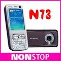 N73 Оригинал Nokia N73 GSM 3 Г Bluetooth 3.15MP FM MP3 Разблокированным Мобильных Телефонов Бесплатная Доставка В Наличии!!!