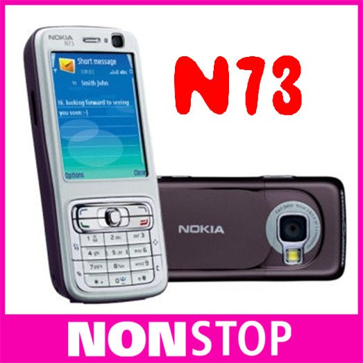 n73 Original Nokia N73 GSM 3G Bluetooth 3.15MP FM MP3