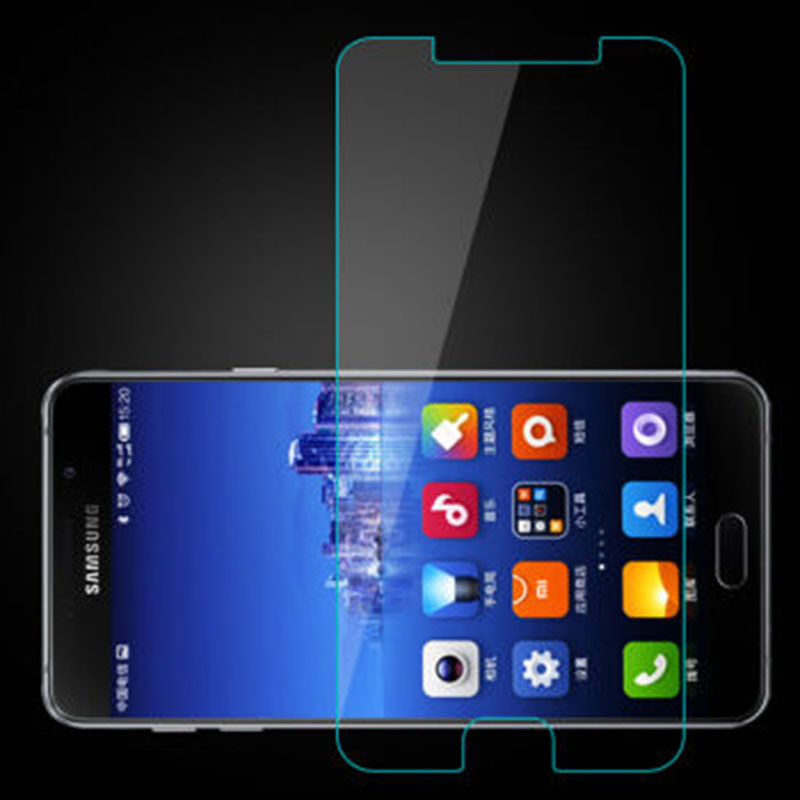 0 28mm 9H Tempered Glass For Samsung Galaxy J7 8 9 Note s7 s9 plus A5 2016 A5 2017 Screen Protector Protective Film Case in Phone Screen Protectors from Cellphones Telecommunications