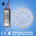 FREE SHIPPING 1W 3W 5W 7W 9W 12W 15W 18W 21W 24W 30W 36W LED Star high power chip+Waterproof AC100-240V led power supply driver