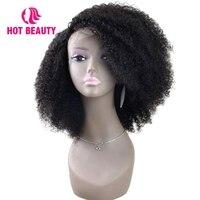 Горячие Красота волос 360 Синтетические волосы на кружеве al парик кудрявый вьющиеся 180 плотность Синтетические волосы на кружеве парик брази