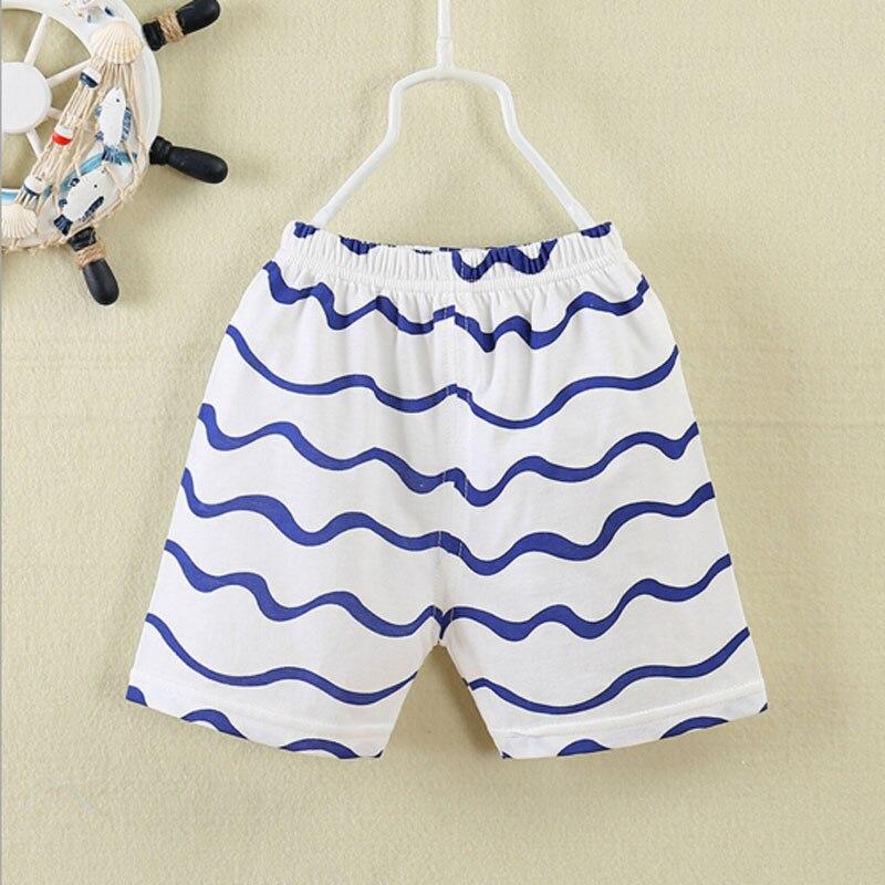 új baba rövid nadrág 0-3T baba nyár tiszta pamut nadrág - Bébi ruházat - Fénykép 3