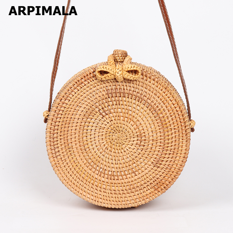 4a43b9aee23d Handmade Summer Rattan Bag - Big Savings Direct