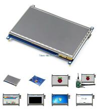 7″ inch Capacitive Raspberry Pi LCD Touch Screen Display TFT Monitor 800×480 HDMI For Raspberry Pi B+/Pi2