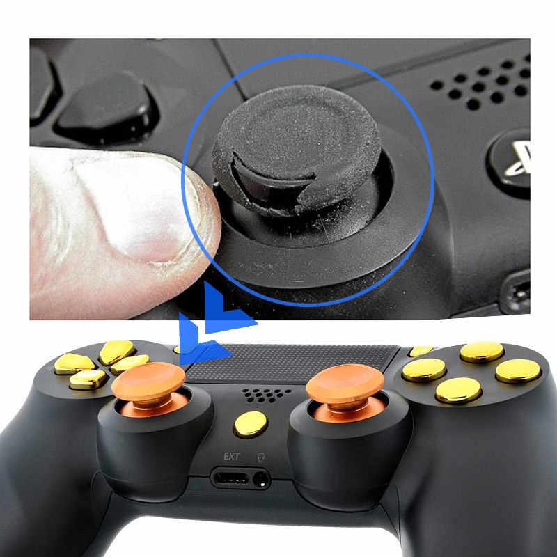 Veri kurbağa Metal başparmak sopa Joystick kavrama düğmesi Sony PS4 denetleyici Analog sopa kap Xbox One /PS4 ince/Pro Gamepad