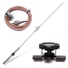 Baofeng nagoya NL 770S banda dupla uhf/vhf 144/430mhz 150w 2.15/3.0dbi antena sl16/UHF J/m tipo antena de rádio móvel do carro