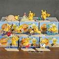 Anime de dibujos animados Pikachu Pokemon Lapras Mini figuras de PVC  colección modelo juguetes muñecas 10 2acc6f2cd71