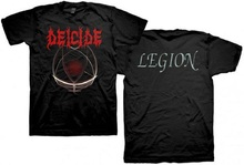 Cool T Shirts O-Neck Short Sleeve New Deicide Legion Album Cover Death Metal Style Mens Tee Shirt