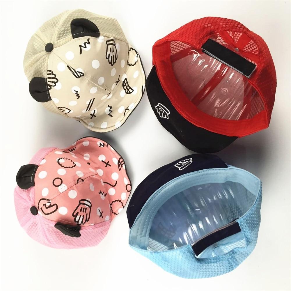 EASY BIG 4-12 mėn. Vasaros kūdikių skrybėlės Medvilniniai vaikai - Kūdikių drabužiai - Nuotrauka 3