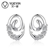 4dd180640 New Fashion Jewelry Silver plated earrings Trendy jewelry Luxurious Hot  Sale jewelry High Quality Christmas gifts