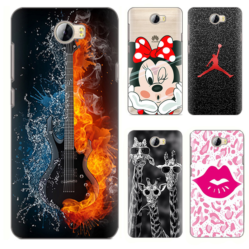the latest 7e11b ec342 US $2.79  Cartoon Animal painted Case for Huawei Y5ii case Huawei Y5 ii  cases Soft Tpu Phone Case Back Cover Fundas 2016 coque shell y 5-in Phone  ...