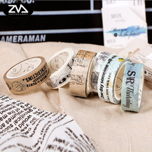 15mm*7M Creative Album Diary DIY Decoration  Washi Tape Kawaii Tapes Scrapbook Tools Crafts Paper school office Supplies