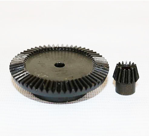 1:2 /3M-18T/36T 90 Degree precision gear drive bevel gear(3M 18 teeth with36 teeth)--2pcs/set 2pcs 90 degree up
