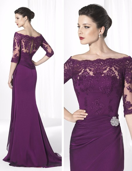 2015-Mother-Of-The-Bride-Dresses-Plus-Size-royal-purple-chiffon-Bride-Mother-Dresses-Formal-Evening