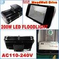 100% 200 Вт Высокая мощность AC85-265V водонепроницаемый IP66 Светодиодный прожектор лампа прожектор наружный пейзаж настенное освещение вспышка пе...