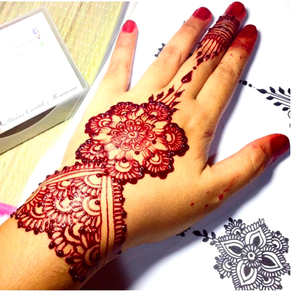 White Indian Mehndi Henna Tattoo Paste Cone For Wedding Henna
