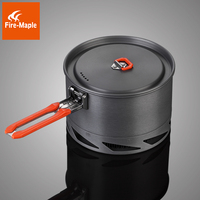 Fire Maple 1 2 Person Heat Exchanger Camping Pot Set Outdoor Cookware Cooking Pot 1 5L