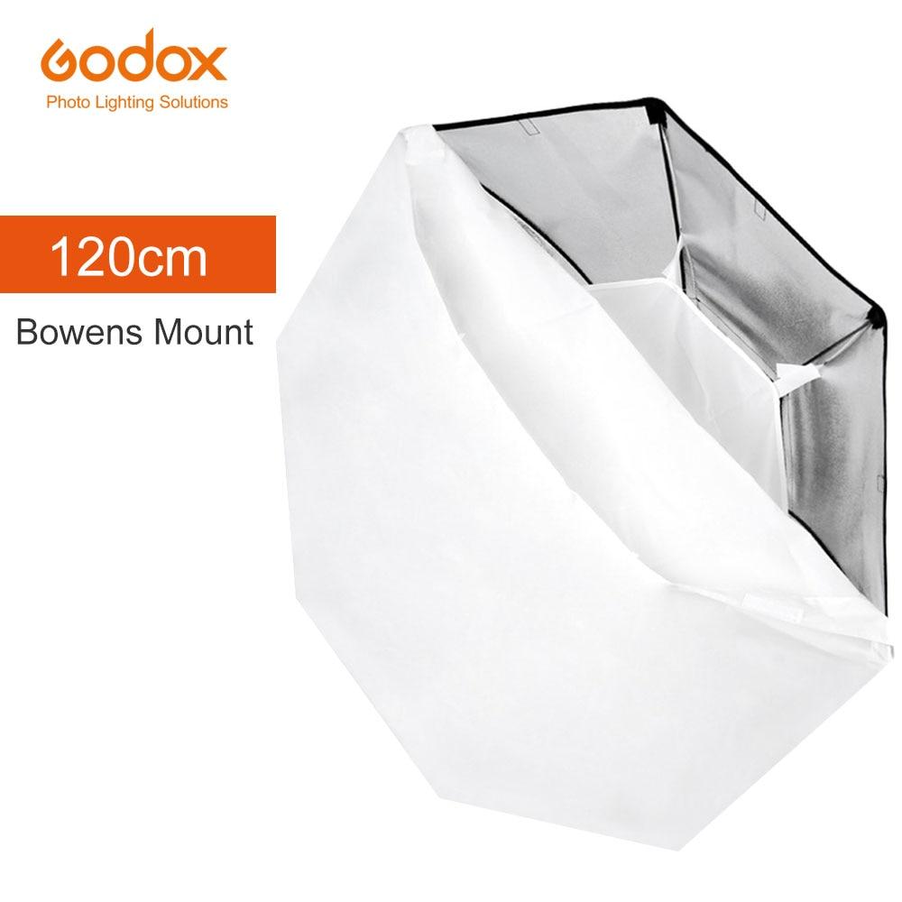 Godox 120cm 47 Octagon Softbox Flash Speedlite Studio Photo Light Soft Box with Bowens mount DE300
