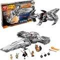 698 pcs Star Wars Star Wars Sith Infiltrator 05008 Blocos de Construção do Modelo Comp W/LEGOS Brinquedos Educativos Para Presentes dos miúdos