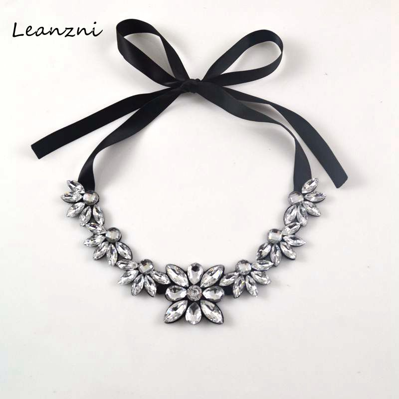 Leanzni popular jewelry pattern ribbon is tie in fashion for Ribbon tie necklace jewelry