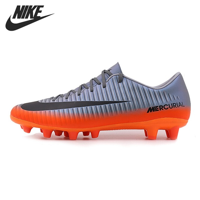Original New Arrival 2017 NIKE MERCURIAL VICTORY 6 CR7 AG-PRO Men's  Football Soccer Shoes