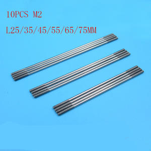 10pcs Stainless Steel Push Rods M2 Connecting Rods Thread Length 10mm
