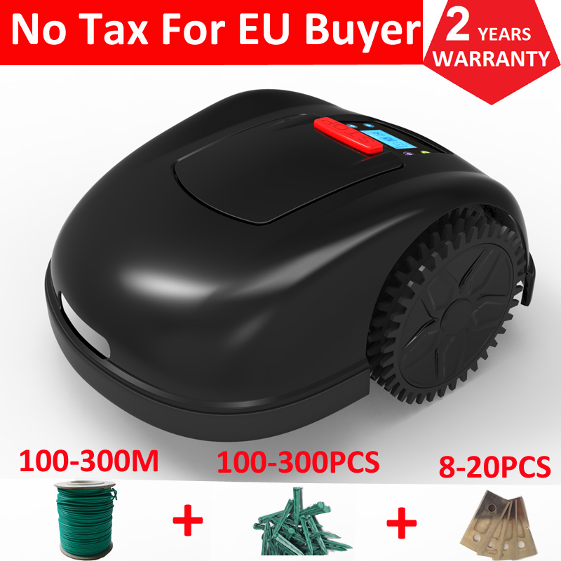 FBA NO TAX  Smartphone Wifi APP Battery Lawn Mower Robotic Lawn Mower Garden Grass Cutter Electric Lawn Mower For Big Lawn
